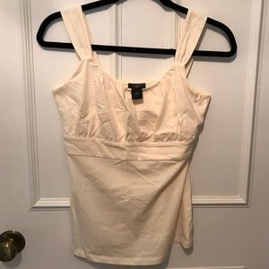NWOT. Ann Taylor cream color camisole.